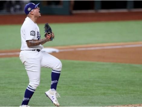 Padre de Julio Urías se tatuó a su hijo ganando la Serie Mundial con Los Ángeles Dodgers