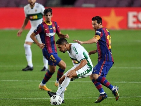 Barcelona host Elche looking for a quick recovery in La Liga 2020-21