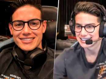 James Rodríguez y su exitoso debut como 'streamer' en Twitch.