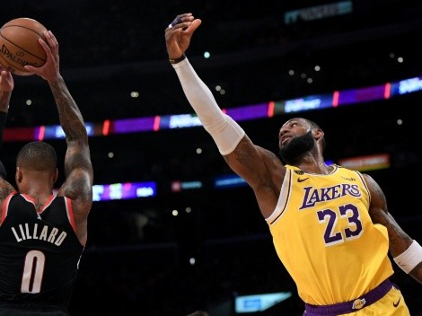 LeBron and the Lakers look to avoid a 5th straight defeat when they host the Blazers