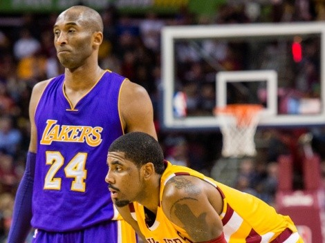 Kyrie Irving explanis why Kobe Bryant should be the new NBA logo