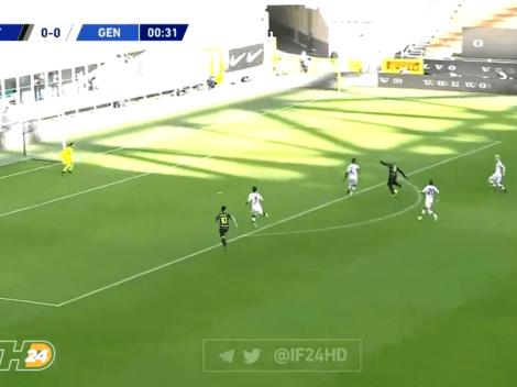 Es una cosa de locos: pase de Lautaro y gol de Lukaku ¡a los 33 segundos!