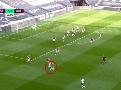Son juega a otra cosa: asistencia perfecta para el 1 a 0 de Bale contra Burnley