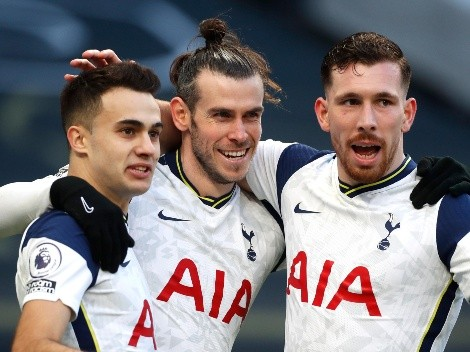 Tottenham pasó por arriba al Burnley y le ganó 4 a 0