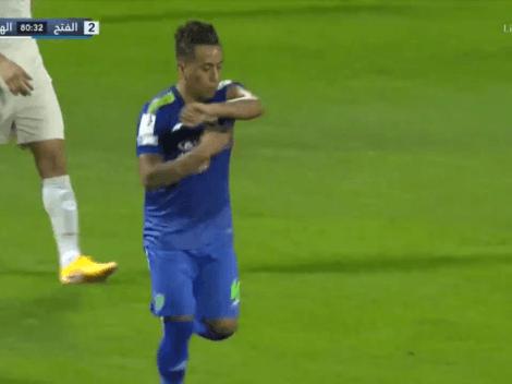 Contra Carrillo: Christian Cueva dio asistencia y metió gol en Al Fateh