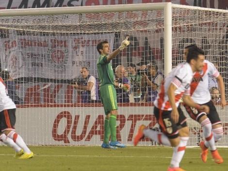 Barovero recordó la Sudamericana 2014 y el penal que le atajó a Boca