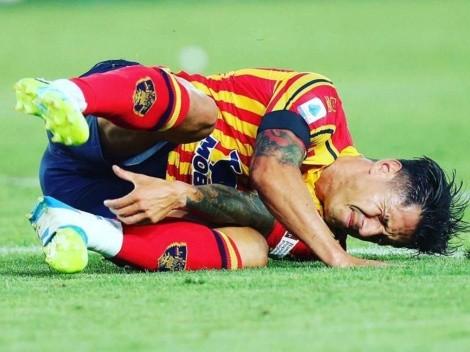 Se prenden las alarmas: Gianluca Lapadula se lesionó en la Serie A de Italia