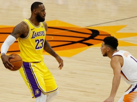 LeBron and the Lakers host Chris Paul's Phoenix Suns at STAPLES Center