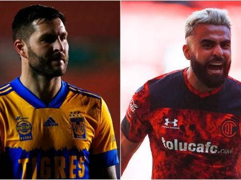 Tigres and Toluca face off at Estadio Universitario on Round 9 of Liga MX 2021