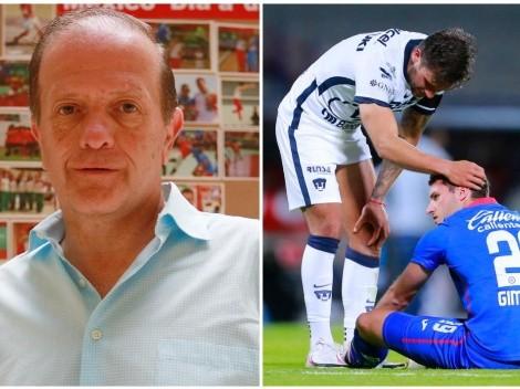 """Cruz Azul tendrá """"prueba psicológica"""" contra Pumas UNAM: Fernando Schwartz"""