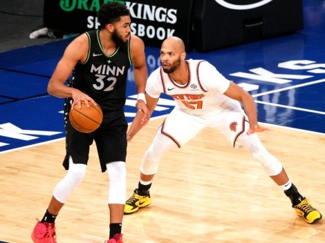 New York Knicks want to trade for Karl-Anthony Towns