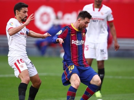 Barcelona host Sevilla aiming to turn around a two-goal deficit in Copa del Rey semifinals