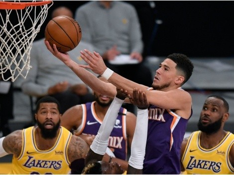 Refs try to save LeBron and the Lakers: Funniest memes from Devin Booker's absurd ejection