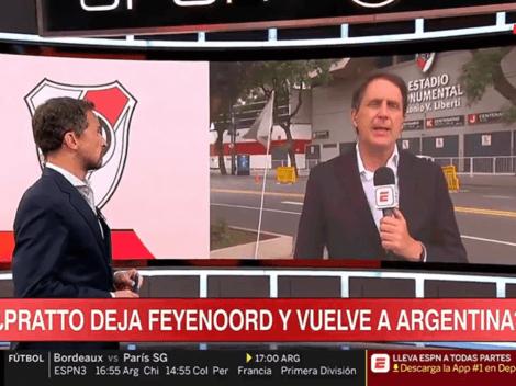 Javier Gil Navarro descartó la vuelta de Pratto