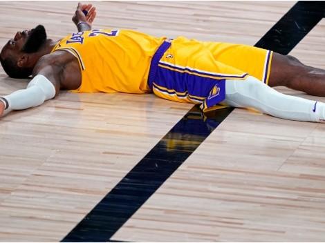 Los Angeles Lakers y LeBron James se separan por primera vez en la temporada