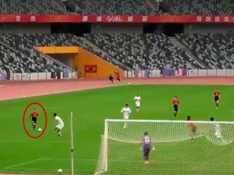 Video: así fue el primer gol de Juanfer Quintero en China