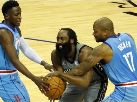 Rockets fan blasts James Harden in his comeback to Houston