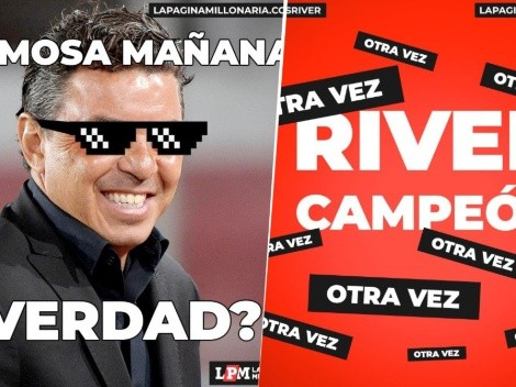 Para que ría Gallardo: los memes del River campeón de la Supercopa Argentina