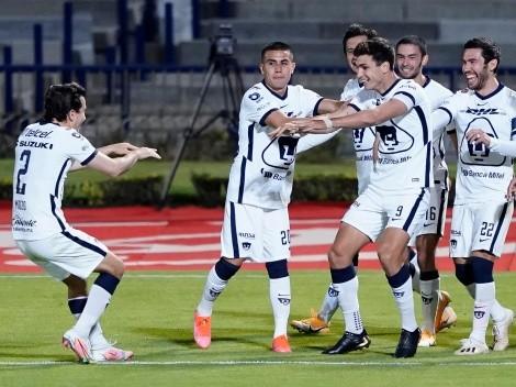 Por Dinenno y Talavera, Pumas le ganó a Santos Laguna y tomó aire
