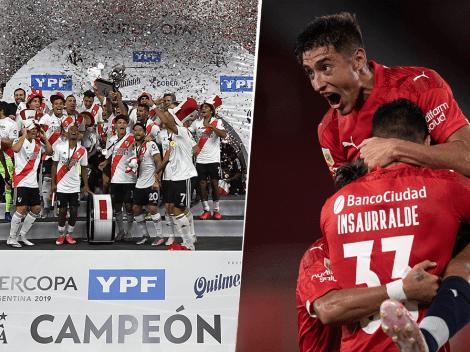 Picante: el tuit de Independiente segundos después del 5 a 0 de River a Racing