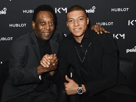 """Pelé, loco por Mbappé: """"Puede convertirse en mi heredero, puedo verme en su habilidad"""""""