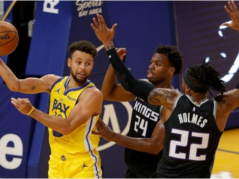 Warriors looking to pull off a trade with the Kings