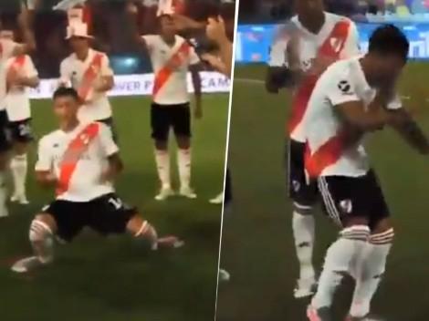 Los pasos prohibidos: el video viral de Alex Vigo en los festejos de River