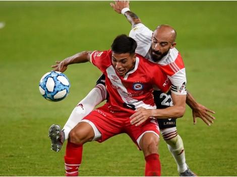 River Plate host Argentinos Juniors seeking third straight win in Argentine Copa de la Liga Profesional
