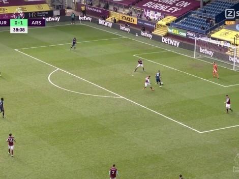 El blooper del siglo: no hay palabras para lo que hizo Xhaka en Burnley-Arsenal