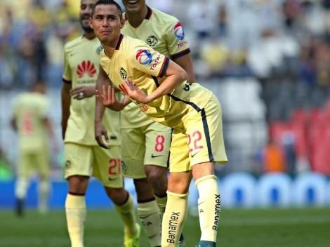 El festejo de Paul Aguilar, el más feo del futbol mexicano