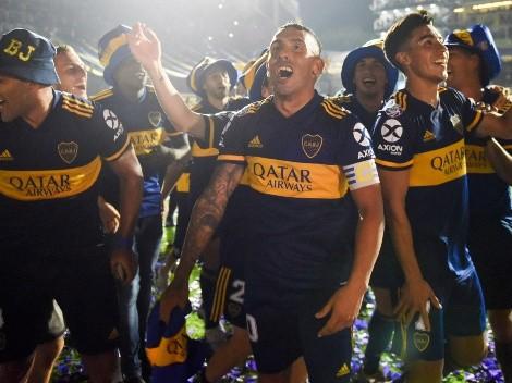 A un año de levantar la Superliga, los hinchas de Boca hicieron tendencia una frase de Vignolo