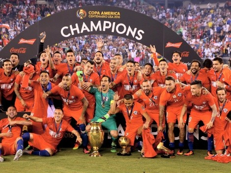¿Cuántas son las Copa América que tiene Chile?