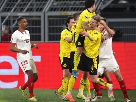 Borussia avança contra Sevilla em mais um show de Haaland