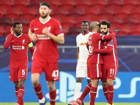 Liverpool passa pelo RB Leipzig e avança às quartas da Champions