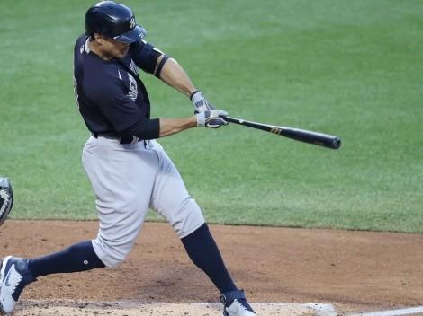 VIDEO: Giancarlo Stanton rompe una pelota con un cuadrangular en pretemporada MLB