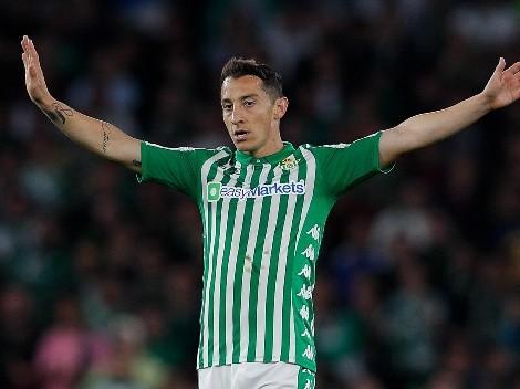 Andrés Guardado dio la clave de la remontada de Betis y elogió a Diego Lainez