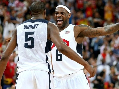 OFICIAL: LeBron James comanda prenómina del Dream Team rumbo a Tokio 2020