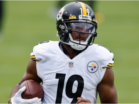 JuJu Smith-Schuter's days at Pittsburgh are over