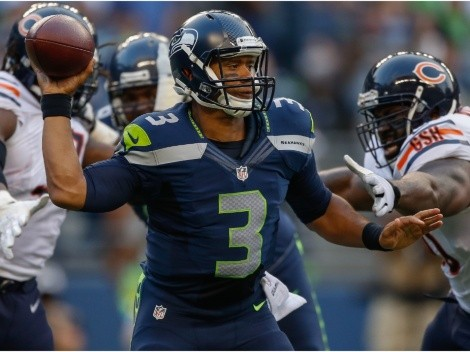 Oddsmakers say Russell Wilson will play for the Bears next season