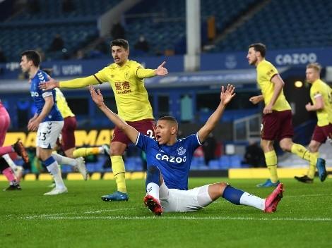 Decepción absoluta: Everton volvió a perder en casa, esta vez con el Burnley