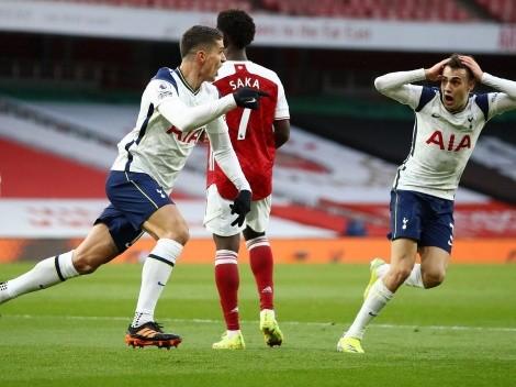 Cierren la Premier para siempre: golazo de rabona de Lamela ante Arsenal