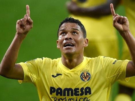 Llegó el primer gol de Carlos Bacca con Villarreal en LaLiga 20/21