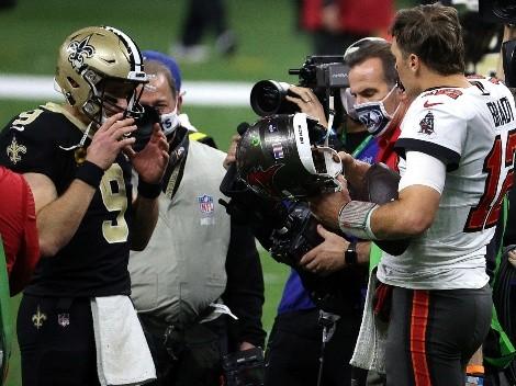 La palabra de Tom Brady por el retiro de Drew Brees de NFL