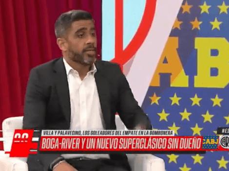 """Bulos: """"Boca festeja que River ya no lo pase por arriba"""""""
