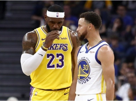 Stephen Curry opens up on his relationship with LeBron James