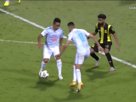 Cada vez mejor: Christian Cueva jugó 120' y metió asistencia en Al Fateh