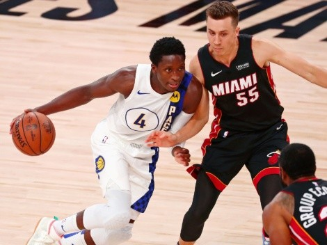Miami Heat welcome Indiana Pacers at the AmericanAirlines Arena