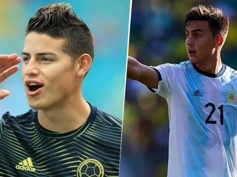 James y Dybala la tienen clara: pronostican la final de la Copa América 2021