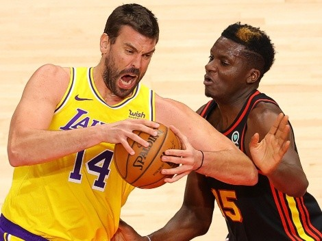The Lakers host the Hawks at the Staples Center