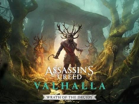 Ubisoft le pone fecha a la primera expansión de Assassin's Creed Valhalla: Wrath of the Druids